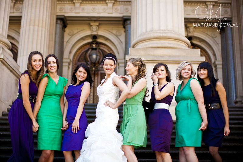 Bridal hair and makeup at Parliament House Melbourne