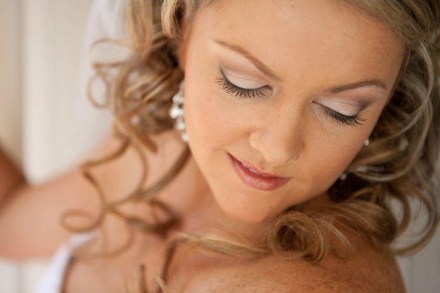 Bridal hair and makeup on the Gold Coast